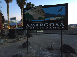 Amargosa Conservancy Sign