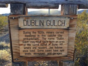 Dublin Gulch Sign