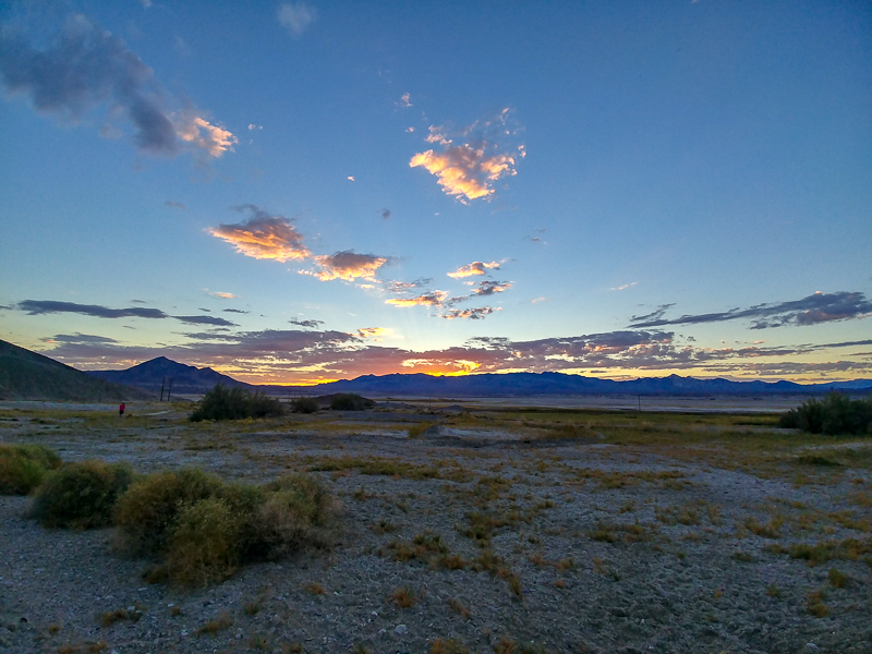 Amargosa Conservancy Sunset